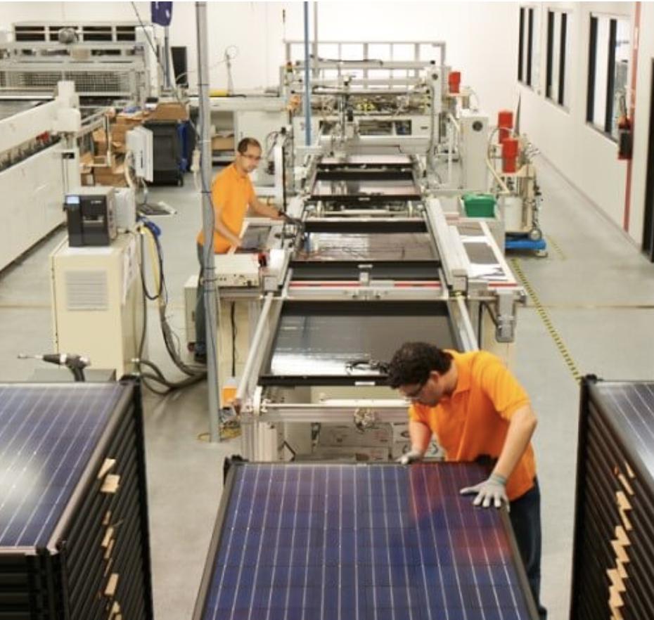 Australian-made high-efficiency solar panels